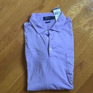 Ralph Lauren purple Polo RL shirt xxl